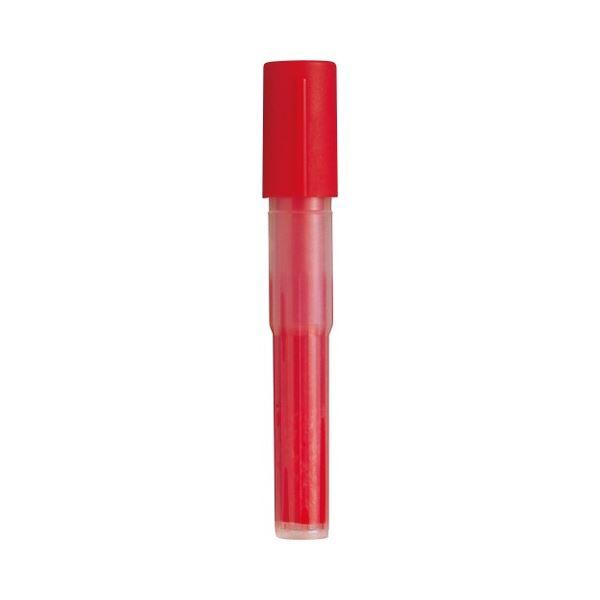 文房具・事務用品 筆記具 関連 (まとめ買い) 油性マーカーノック式ハンディ専用カートリッジ 赤 NR2-B 1本 【×100セット】