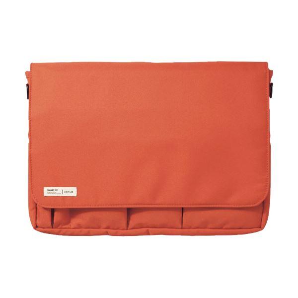 バッグ 男女兼用バッグ 関連 (まとめ買い)SMART FITキャリングポーチ A4 オレンジ A-7577-4 1個【×2セット】