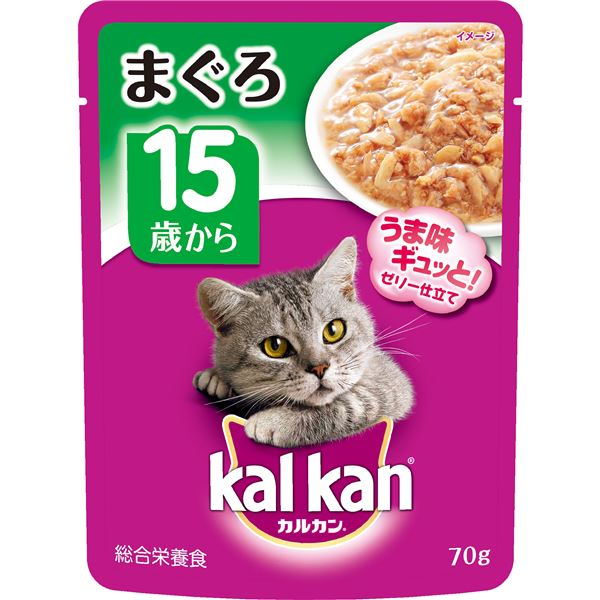 猫用品 キャットフード・サプリメント 関連 (まとめ買い)パウチ 15歳から まぐろ 70g【×160セット】【ペット用品・猫用フード】