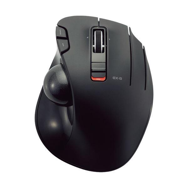 パソコン・周辺機器 関連 ワイヤレストラックボール(親指操作タイプ) ブラック M-XT2DRBK 1個