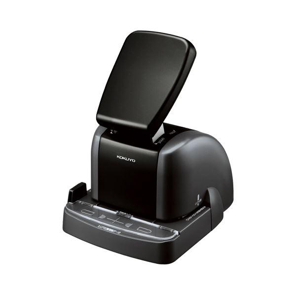 文房具・事務用品 ホッチキス・穴あきパンチ 関連 針なしステープラー(ハリナックス) 2穴タイプ 10枚とじ SLN-MSP110D 1個