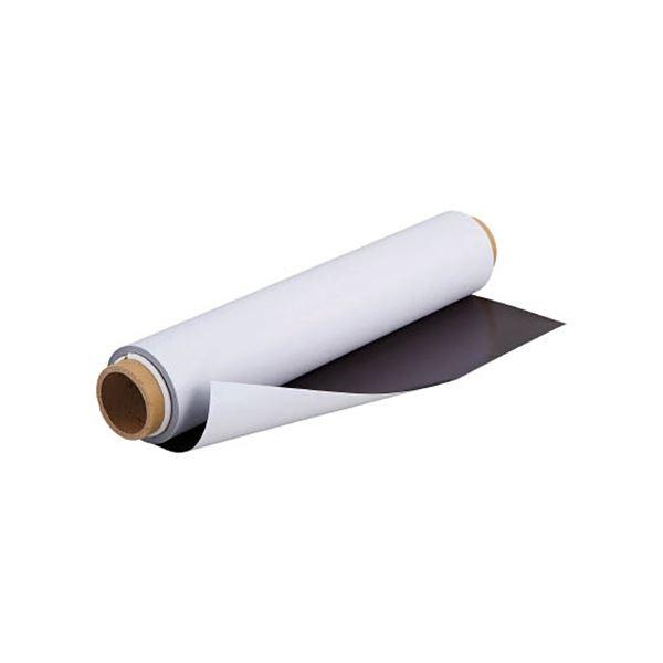 文房具・事務用品 マグネット 関連 カラーマグネットロール0.4×620mm×10m TCMR-04-60-10W 1巻
