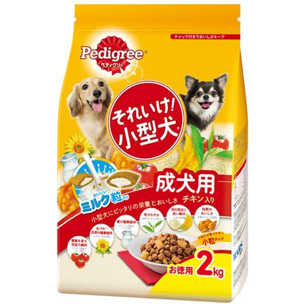 犬用品 ドッグフード・サプリメント 関連 (まとめ買い)それいけ 小型犬 チキン入り 2kg【×6セット】【ペット用品・犬用フード】