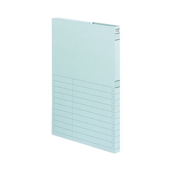 文具・オフィス用品関連 ケースファイル-FS A4タテ背幅17mm 青 A4-950B 1セット(30冊)