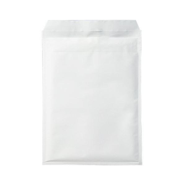 文具・オフィス用品関連 クッション封筒エコノミーA4ワイド用 内寸260×350mm ホワイト 1セット(100枚:50枚×2パック)