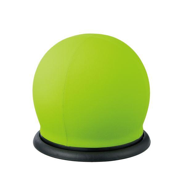 ダイエット・健康 リラックス・マッサージ用品 関連 スツール型バランスボール グリーン BC-B GR 回転
