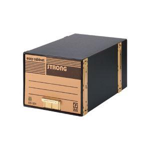 文具・オフィス用品関連 イージーキャビネットストロングA4用 内寸W325×D565×H265mm ES-001 1パック(5個)