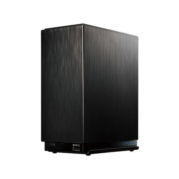 パソコン 外付けメモリカードリーダー 関連 デュアルコアCPU搭載2ドライブ高速NAS 2TB HDL2-AA2 1台