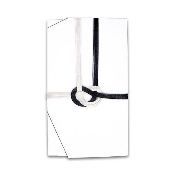 文具・オフィス用品関連 (まとめ) 大阪折 黒白7本 金封 無地 ハスなし111-1 1セット(10枚) 【×5セット】