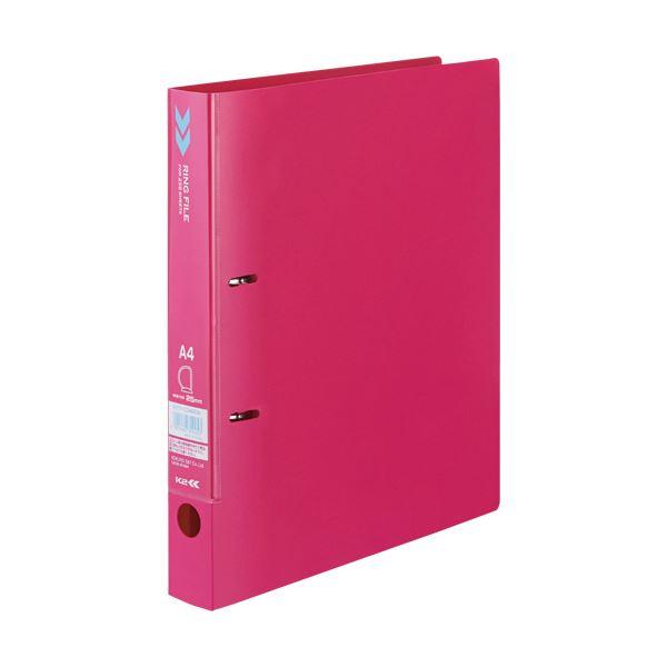 文房具・事務用品 ファイル・バインダー 関連 (まとめ)Dリングファイル(K2)A4タテ 背幅36mm 赤 K2フ-CD420R 1冊 【×20セット】