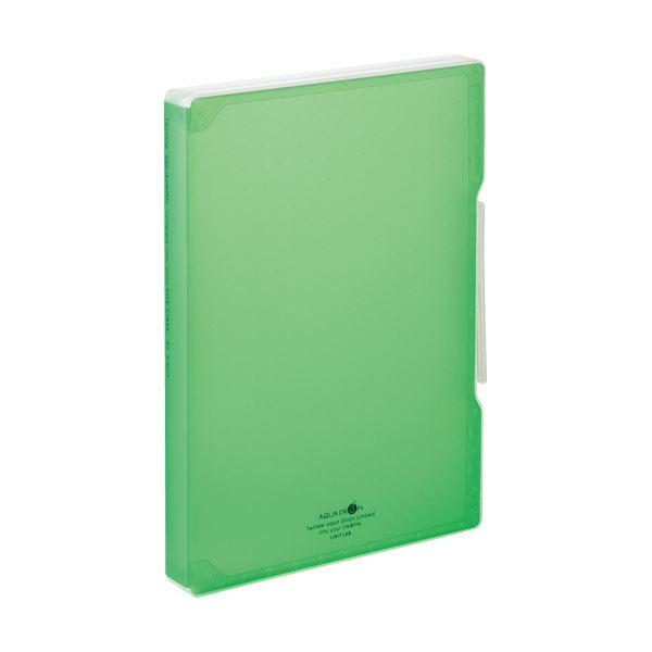 文具・オフィス用品関連 (まとめ)ファイルケース A4 270枚収容 背幅30mm 黄緑 A-5029-6 1個 【×10セット】