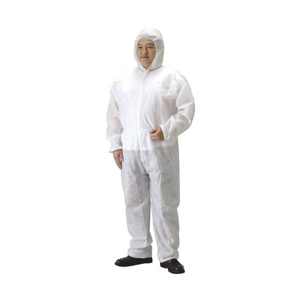 DIY・工具 作業着 関連 (まとめ)ガードオールGA-700L不織布続服【×50セット】