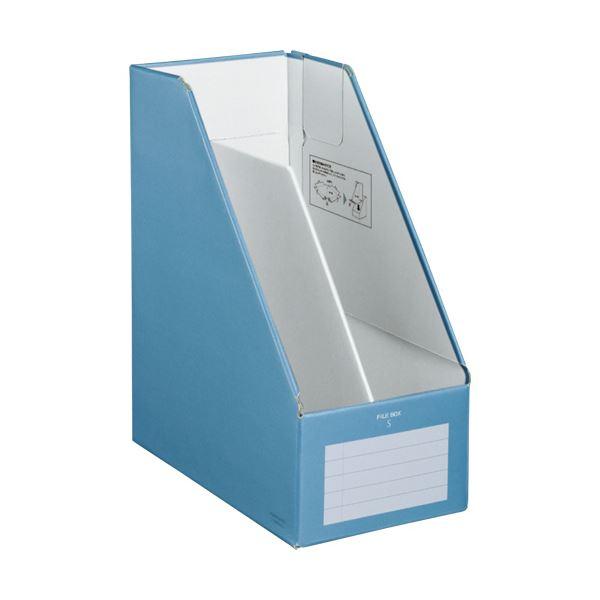 文具・オフィス用品関連 (まとめ)ファイルボックスS(ワイドタイプ) A4タテ 背幅150mm 青 フ-EW450B 1冊 【×10セット】