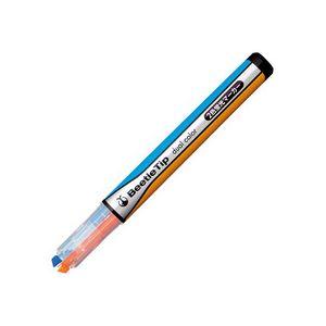文房具・事務用品 筆記具 関連 (まとめ買い) 2色蛍光マーカービートルティップ オレンジ×ライトブルー PM-L303-3-1P 1本 【×50セット】