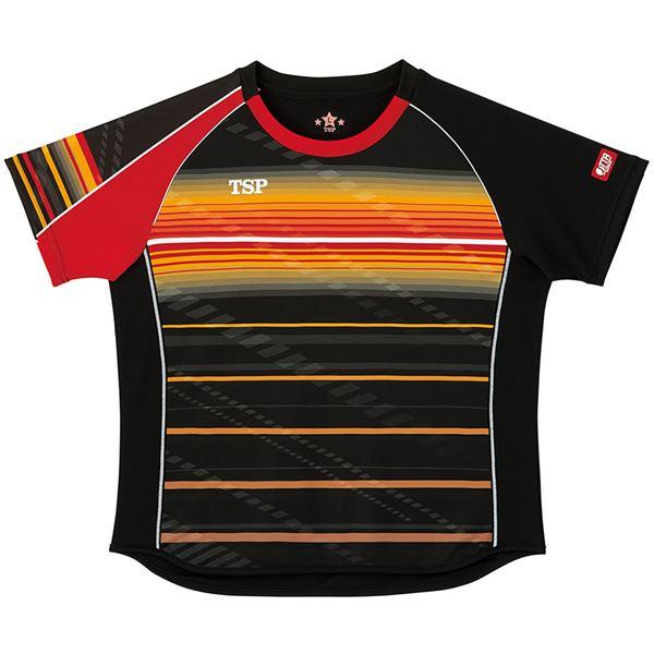 スポーツ用品・スポーツウェア 卓球用品 関連 卓球アパレル ゲームシャツ レディスクラールシャツ 女子用 032416 ブラック 3XL