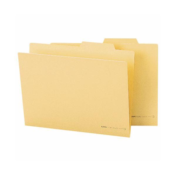 収納用品 マガジンボックス・ファイルボックス 関連 (まとめ)個別フォルダー A4クリーム A4-IF 1セット(10冊) 【×10セット】