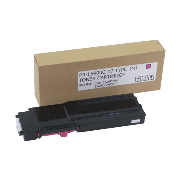 パソコン・周辺機器 PCサプライ・消耗品 インクカートリッジ 関連 トナーカートリッジPR-L5900C-17 汎用品 マゼンタ 1個