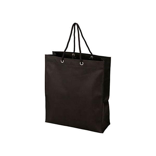 インテリア・寝具・収納 オフィス家具 関連 (まとめ) 不織布バッグ 黒315×355×110mm TNFB-10-S 1パック(10枚) 【×3セット】