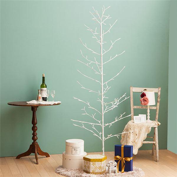 日用品雑貨・文房具・手芸 関連 クリスマスツリー LEDブランチツリー <LEDイルミネーショ・オーナメント・デコレーション・飾り付け> 高さ約120cm