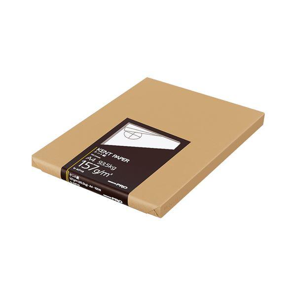 文房具・事務用品 製図用品 関連 (まとめ買い)高級ケント紙 157g/m2A4カット セ-KP19 1冊(100枚)【×5セット】