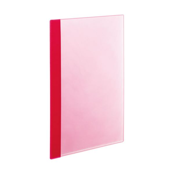ファイル・バインダー クリアケース 1パック(5冊)・クリアファイル 関連 (まとめ)薄型クリアブック(角まる) A4タテ A4タテ 5ポケット ピンク ピンク 1パック(5冊)【×20セット】, タイムマシーン:088979d0 --- sunward.msk.ru