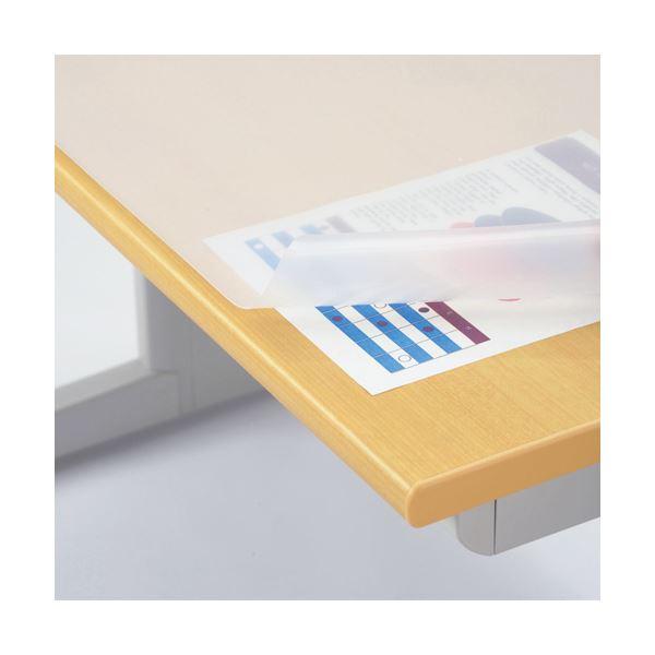 文具・オフィス用品関連 デスクマット再生オレフィン製 ノングレア仕上 シングル 990×690×1.5mm No.107-SR 1枚