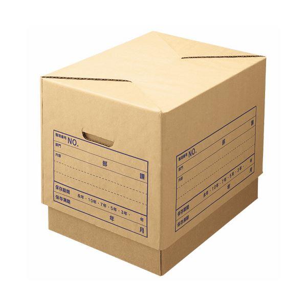 生活 雑貨 通販 (まとめ) ライオン事務器 文書保存箱 強化タイプ A4用 内寸W420×D325×H295mm SC-31 1個 【×10セット】