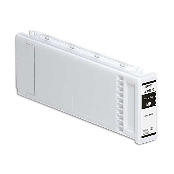 パソコン・周辺機器 PCサプライ・消耗品 インクカートリッジ 関連 インクカートリッジマットブラック 700ml SC8MB70 1個