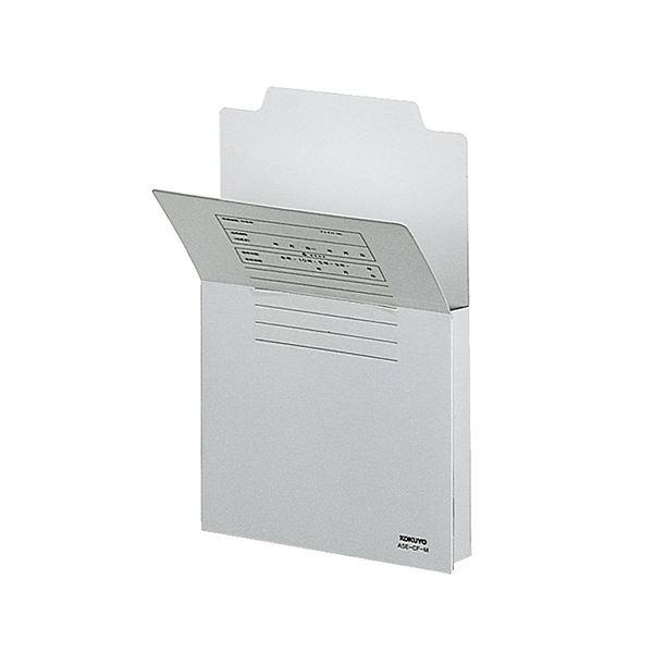 収納用品 マガジンボックス・ファイルボックス 関連 (まとめ買い)持ち出しフォルダー A5 グレーA5E-CF-M 1セット(10冊) 【×5セット】