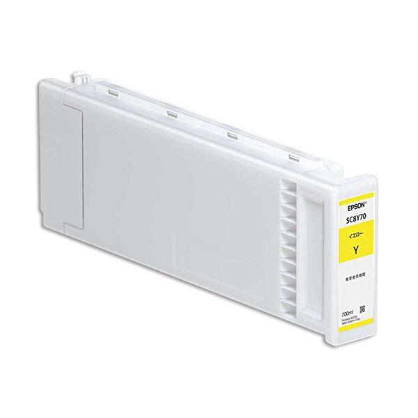 パソコン・周辺機器 PCサプライ・消耗品 インクカートリッジ 関連 インクカートリッジ イエロー700ml SC8Y70 1個