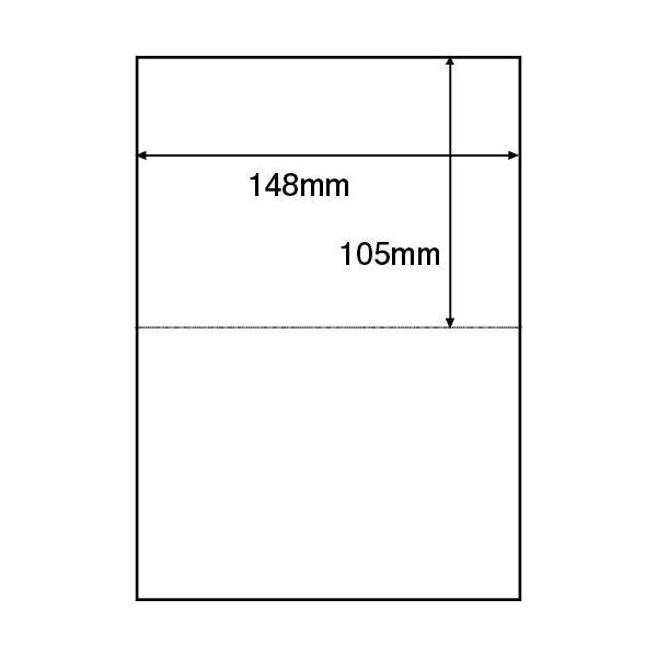 文具・オフィス用品関連 (まとめ)TANOSEE 領収書用紙 A5 2面1箱(500枚) 【×10セット】