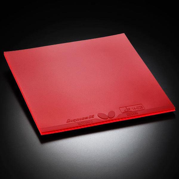 卓球用品 卓球ラケット用ラバー 関連 裏ラバー DIGNICS 05(ディグニクス 05) 06040 レッド A(厚)
