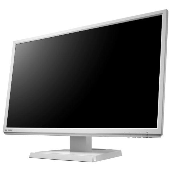 パソコン・周辺機器 ディスプレイ 関連 「5年保証」広視野角ADSパネル採用 DisplayPort搭載21.5型ワイド液晶ディスプレイホワイト