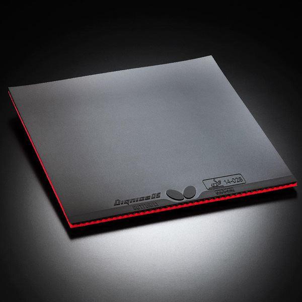 卓球用品 卓球ラケット用ラバー 関連 裏ラバー DIGNICS 05(ディグニクス 05) 06040 ブラック A(厚)