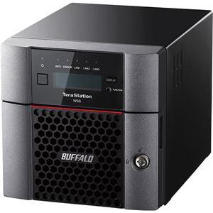 パソコン・周辺機器 関連 TeraStation WSS Windows Storage Server 2016法人向け2ドライブNAS 8TB