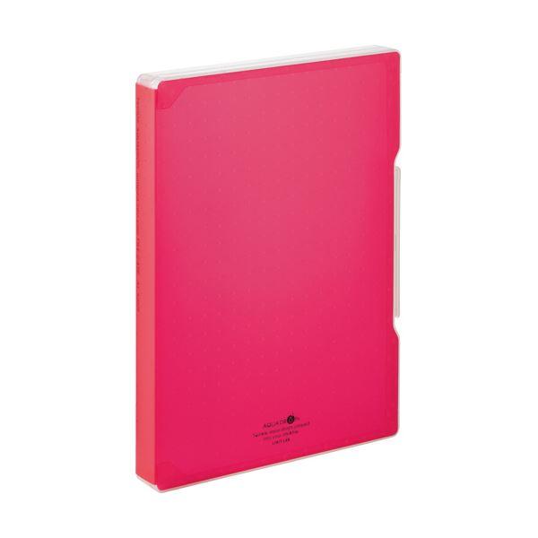 文具・オフィス用品関連 (まとめ)ファイルケース A4 270枚収容 背幅30mm 赤 A-5029-3 1個 【×10セット】