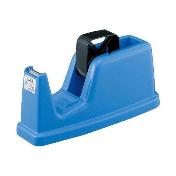 文房具・事務用品 はさみ・裁断用品 はさみ 関連 (まとめ買い) テープカッター 青 PP製T-M12NB 1台 【×5セット】