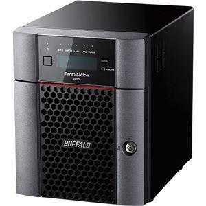 パソコン・周辺機器 関連 TeraStation WSS Windows Storage Server 2016Workgroup Edition 4ドライブNAS 24TB