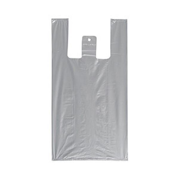 生活 雑貨 通販 レジ袋(シルバー) 1パック/100枚入 L 1箱(30パック)
