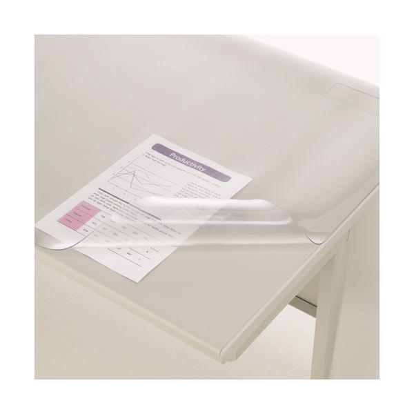 文房具・事務用品 机上収納・整理用品 デスクマット 関連 デスクマット PVC製光沢仕上 シングル 1390×590×1.5mm No.146-SS 1枚