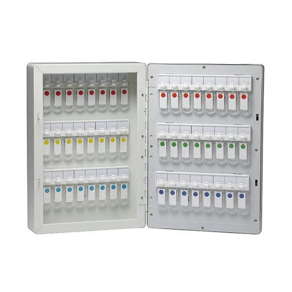 インテリア・寝具・収納 関連 暗証番号キーボックステンキー式 48個吊 KS-7091 1個