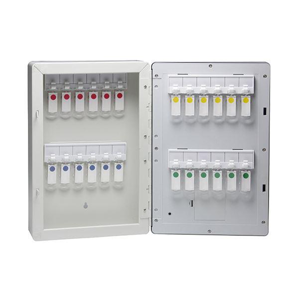 インテリア・寝具・収納 関連 暗証番号キーボックステンキー式 24個吊 KS-7121 1個