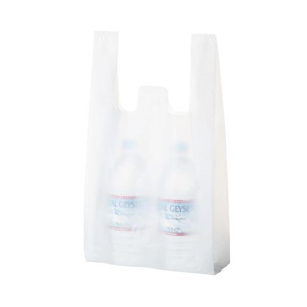 生活 雑貨 通販 (まとめ) TANOSEE 乳白レジ袋 30号ヨコ260×タテ480×マチ幅130mm 1パック(100枚) 【×50セット】