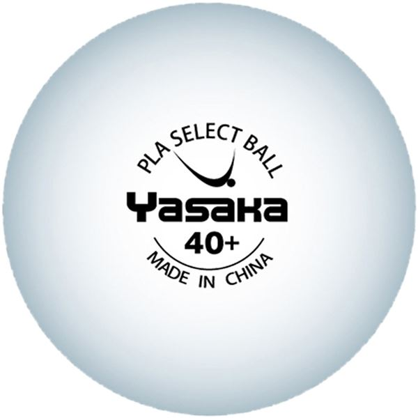 スポーツ用品・スポーツウェア 卓球用品 関連 卓球練習球 PLA SELECT BALL(プラ セレクトボール 10ダース入) A61