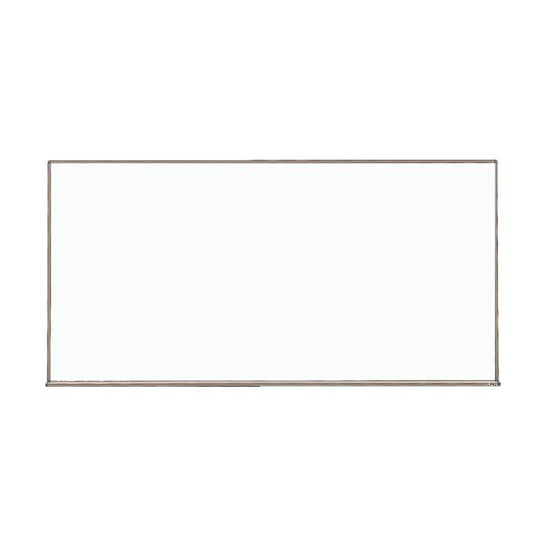 スチール製ホワイトボード白暗線 600×900 黒 WGH-122SA-BL 1枚