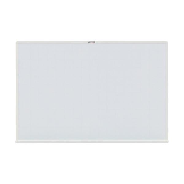 スチール製ホワイトボード白暗線 600×900 白 WGH-122SA-W 1枚