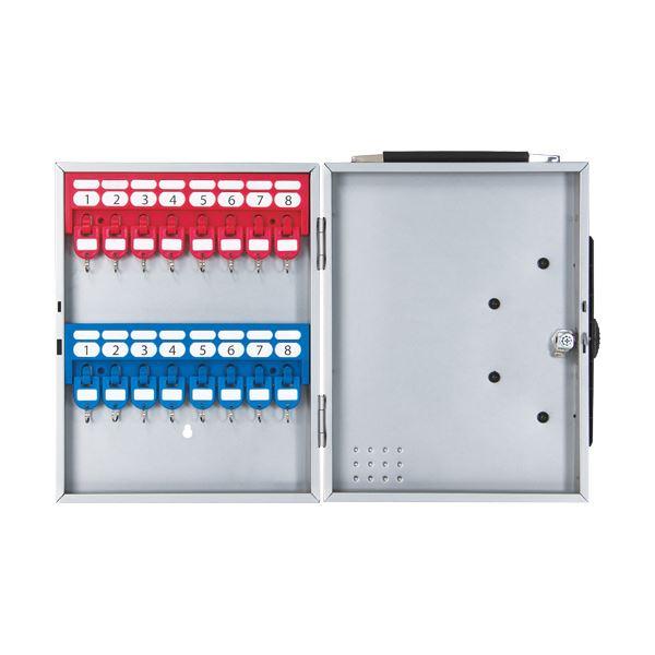インテリア・寝具・収納 関連 キーボックス 16個吊シルバー CKB-16-S 1個