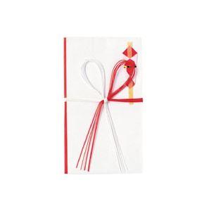文具・オフィス用品関連 (まとめ) 紅白5本 花結金封 キ11枚 【×50セット】