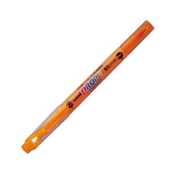 ペン・万年筆関連 (まとめ買い) 蛍光ペン プロパス・ウインドウオレンジ PUS102T.4 1本 【×50セット】