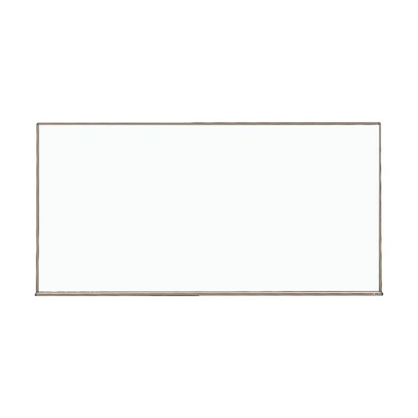 プレゼンテーション用品 掲示板・コルクボード 関連 スチール製ホワイトボード300×450 板面:白 枠色:ブロンズ WGH-142S-BL 1枚